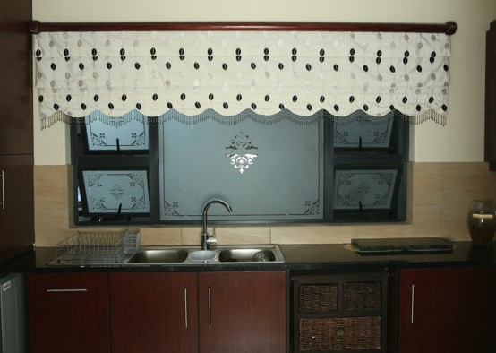 Roman Blind with Scallop